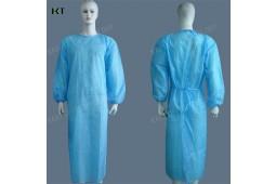 Einweg-PP Nonwoven Chirurgische Kleid, SMS Chirurgische Kleid, Isolation Kleidung, Einweg-Kleid, Patient Kleid, Patient Anzug, Arzt Anzug